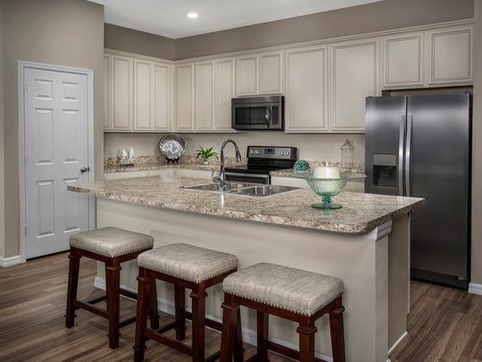 The model home is now open for interested homebuyers to tour, and pricing starts in the high $100,000s.
