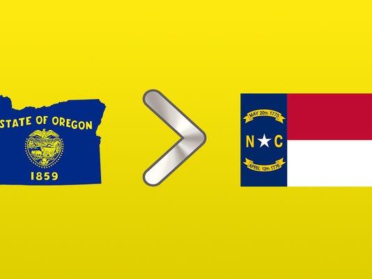 Oregon vs. North Carolina