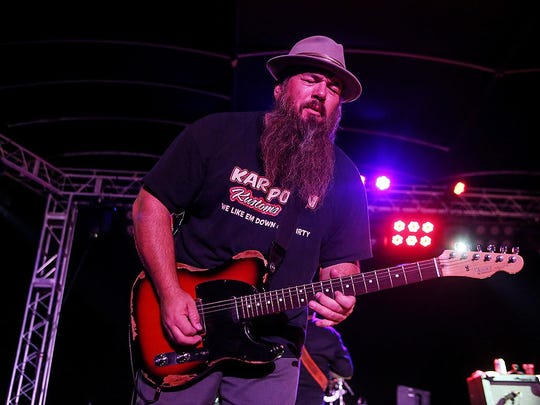 Harlis Sweetwater says he prefers to maintain a consistent approach to his sound, much like ZZ Top or Stevie Ray Vaughan.