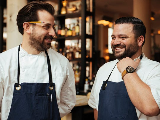 Memphis-based chefs Andrew Ticer and Michael Hudman