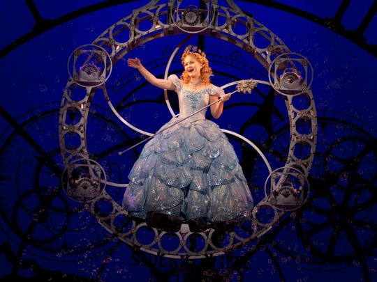 """Amanda Jane Cooper will play Glinda the good witch in """"Wicked"""" beginning Feb. 3 at Hammons Hall. """"Glinda's joy and her spunk"""" are the actor's favorite aspects of the character."""