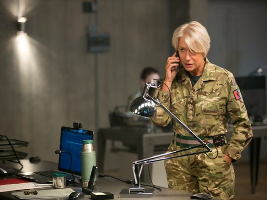 """Helen Mirren stars as Colonel Katherine Powell in the dramatic thriller, """"Eye in the Sky."""""""
