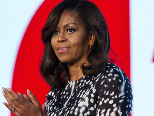 First lady Michelle Obama discussed her life, her dreams,