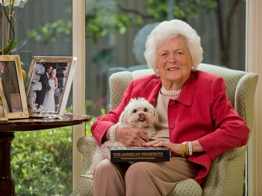 XXX BARBARA-BUSH-JOB-#-13074608.JPG USA TX