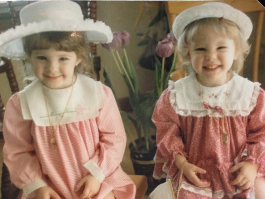 Throwback Easter photo from SlickLaRoo: Year was 1986, sisters Cara Campbell Riesner and Kelly Campbell model their favorite Easter apparel. ... Send me your photo at heycori@indystar.com or tag @heycori on Twitter!