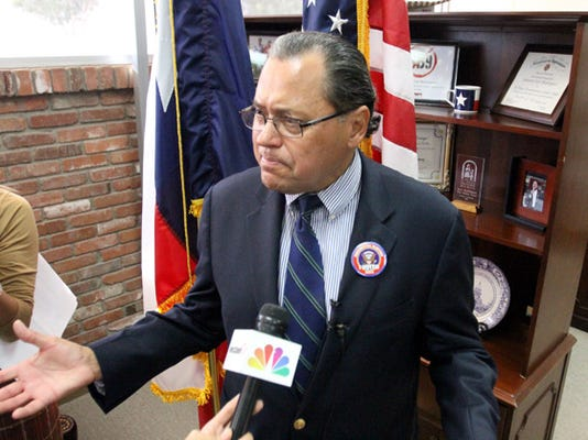 State Senator Jose Rodriguez spoke about the continuing controversy at the El Paso Independent School District during a press conference in his office Wednesday.