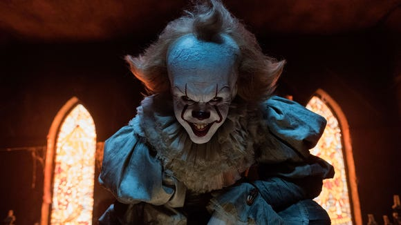 Pennywise (Bill Skarsgård) haunted the residents of