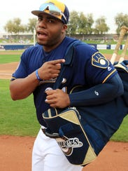 Jesus Aguilar is a unifying presence in the Brewers