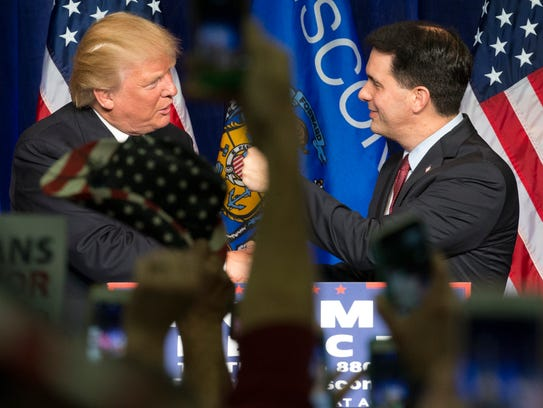 Wisconsin Gov. Scott Walker is among those who are
