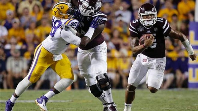 Mississippi State tackle is expected to return to practice on Monday.