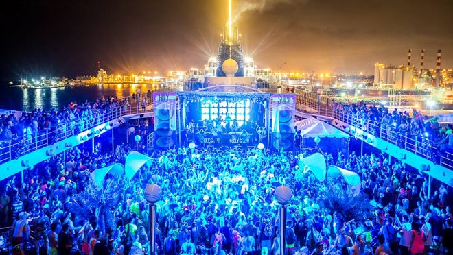 A scene from a previous Holy Ship! cruise.