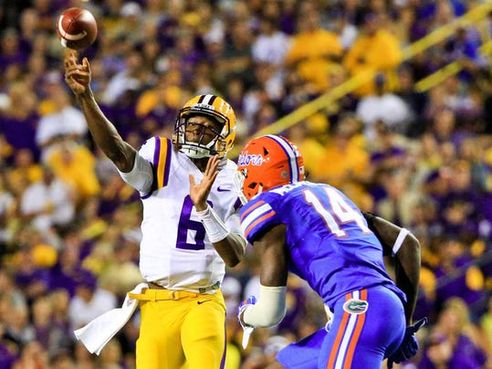 NCAA Football: Florida at Louisiana State