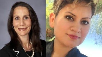 Nancy Brune and Desiree Rios