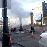Detroit retailers steaming over 6-week water leak