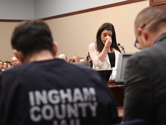 Nassar sentencing hearing:  Day four of victim impact statements