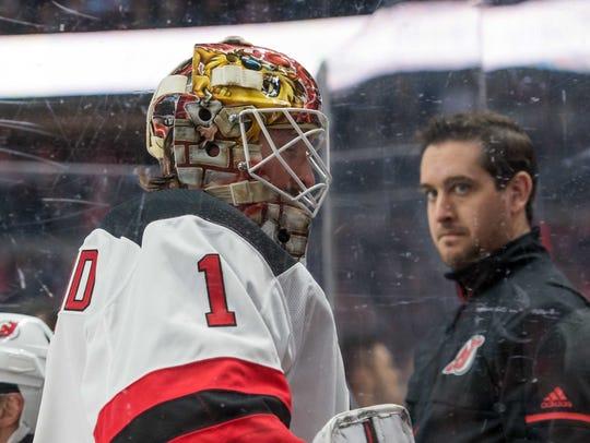 Feb 6, 2018; Ottawa, Ontario, CAN; New Jersey Devils
