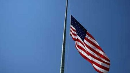 Flags at state buildings will fly at half-staff to honor the National Guard soldiers and Marines killed in the Florida helicopter crash.