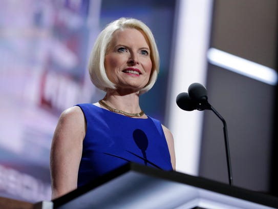 Callista Gingrich is seen during the 2016 Republican