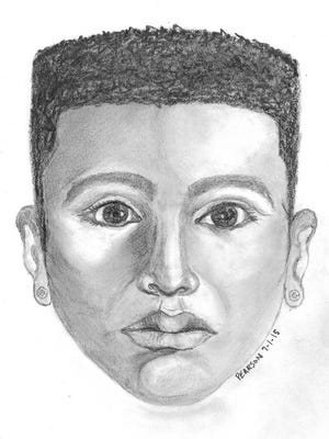 This composite sketch shows the driver being sought in a shooting incident that happened June 30 just south of Alexandria. A Louisiana State Police trooper pulled the driver's car over, but a fight soon broke out. The trooper was hit on the head, but was not shot.