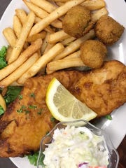 One of the grill's weekly specials is a Friday fish