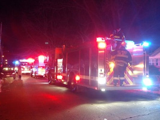 House fire on 61st St.