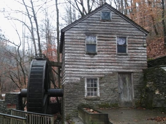The Rice Family Grist Mill is near the trail's beginning.