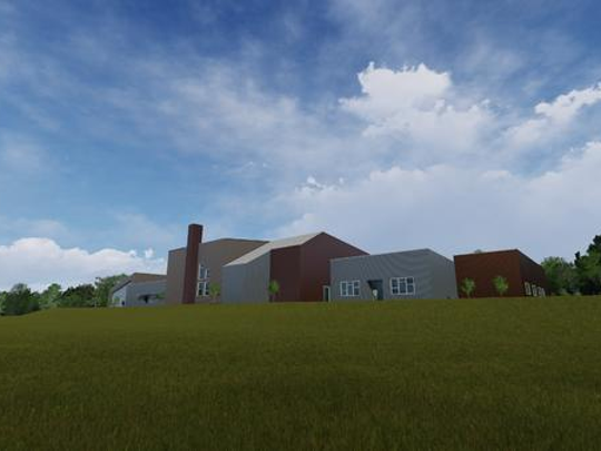 A rendering of the planned 109 Church of Christ building that will be a Mt. Juliet Church of Christ church plant.