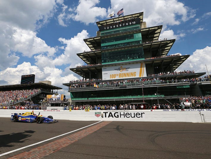 The month of May all leads up to this. Win a pair of tickets to the Indy 500. Enter 5/1-5/20.
