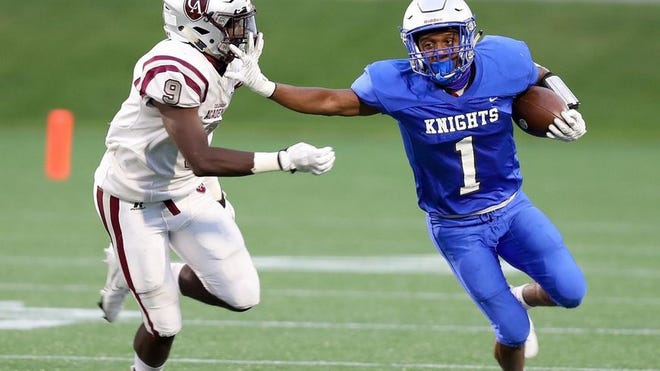 Tyrese Hudson and Ready are preparing to visit Harvest Prep on Friday, Sept. 18. The Silver Knights lost to the Warriors 21-15 in overtime last season.