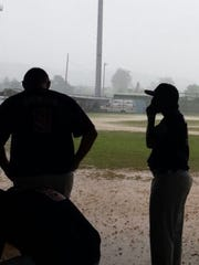 A flooded Francisco-Palacios field canceled the Asia Pacific Regional Tournament championship game.
