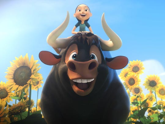 """Ferdinand (voiced by John Cena), a bull with no interest in bullfighting, was introduced in the 1936 children's book """"The Story of Ferdinand."""""""
