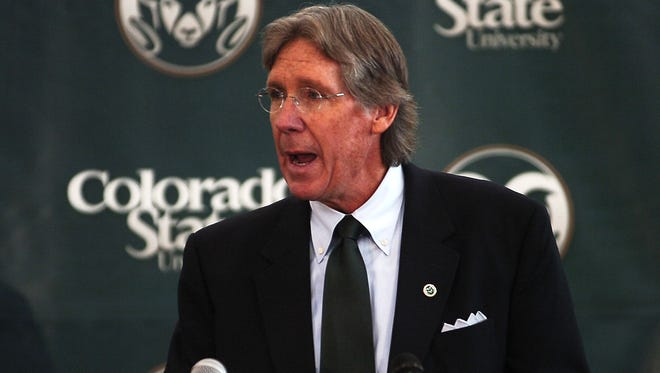 Jack Graham is shown in 2011. Graham was fired from his position as CSU's athletic director on Aug. 8.