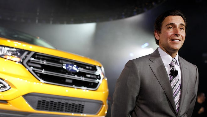 Ford announced Wednesday, July 2, 2014, that new CEO Mark Fields will have a 2014 pay package worth $5.25 million, not including additional options. Fields replaced Alan Mulally, who retired Tuesday, July 1, 2014.