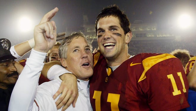 USC coach Pete Carroll and quarterback Matt Leinart were locked out of the BCS in 2003, even though the Trojans finished No. 1 in the final polls.