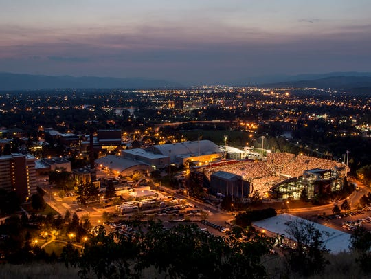 The University of Montana.