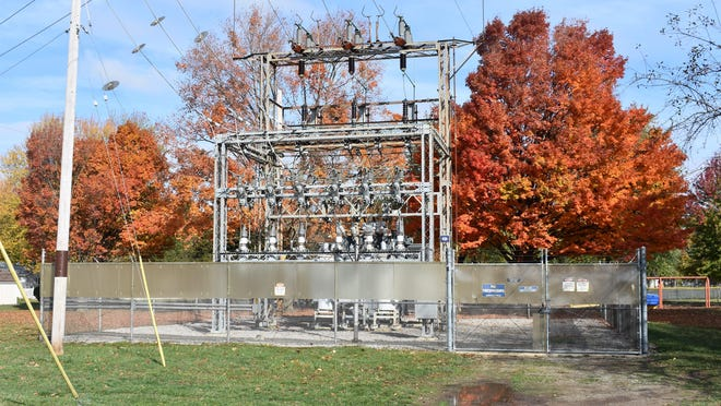 This Consumers Energy substation, located in Blissfield, was the source of a power loss Monday, Oct. 19 to Blissfield-area residents. A squirrel was to blame for the outage, which affected nearly 1,900 residents, and lasted upwards of 10 hours for many customers.