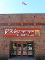 The Johnson County Jail is seen on Monday, Sept. 21,