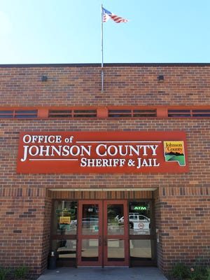 The Johnson County Jail is seen on Monday, Sept. 21, 2015.