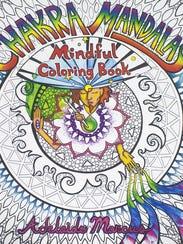 """Chakra Mandalas Mindful Coloring Book"" by Adelaide"