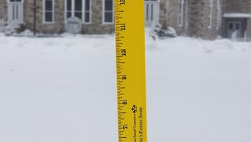 Snowfall totals from around Delmarva