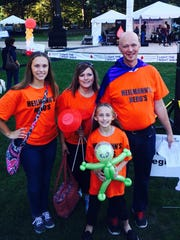 Kurt Heilmann, PCMS teacher and Honored Hero at the Light the Night Walk in Cleveland, celebrates 10 years in remission after beating cancer.