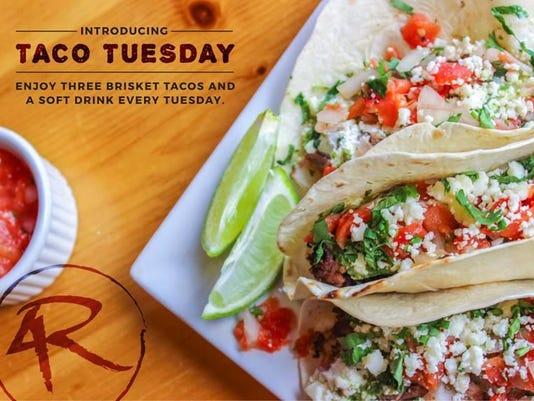 4R Brisket Tacos
