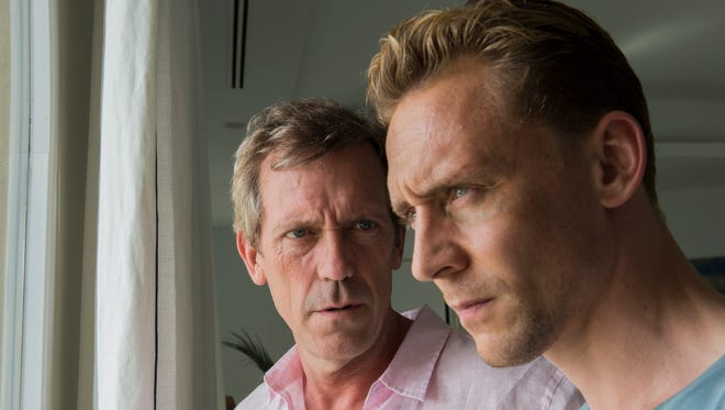 Hugh Laurie and Tom Hiddleston in 'The Night Manager' airing on Sundance.