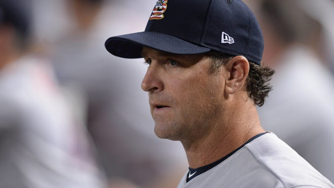"""""""We're going to fight right to the end,"""" insists Cardinals manager Mike Matheny."""