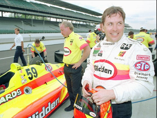 Coldwater's Scott Brayton died in a crash at the Indy