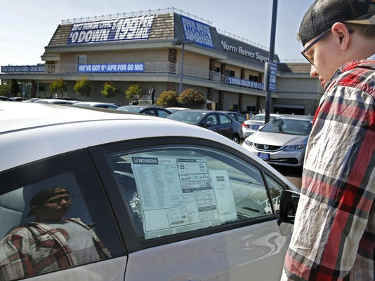 Experts warn against long-term auto loan trend