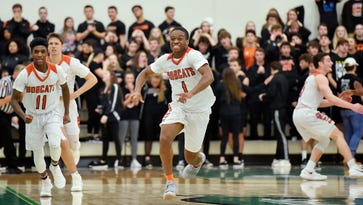 Half-court shot helps propel Northeastern to back-to-back YAIAA titles (with video)