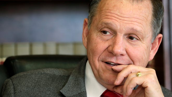Alabama Supreme Court Chief Justice Roy Moore.