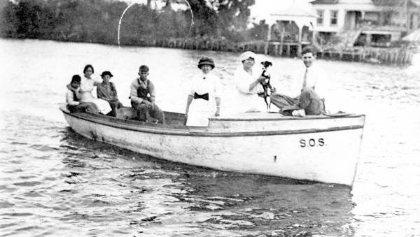 People boating - Everglades City, Florida