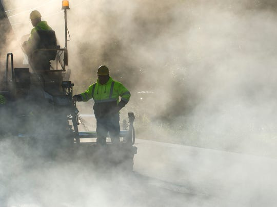 Paving projects are scheduled throughout the upcoming construction season in Burlington.